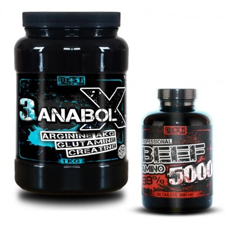 3AnabolX + BEEF Amino Zadarmo