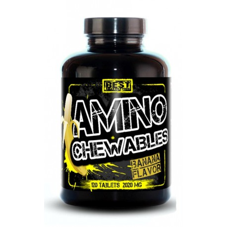 AMINO CHEWABLES 120 TAB